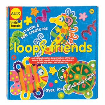 Alex Loopy Friends Art Kit