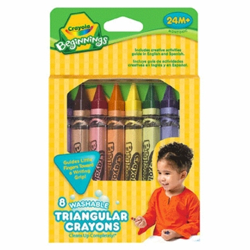 Crayola Washable Triangular Crayons