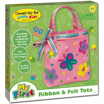 Creativity for Kids My First Ribbon And Felt Tote
