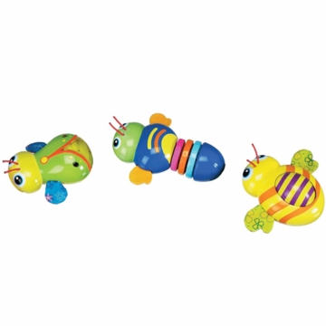 Munchkin Linking Buggies Toy - Set of 3