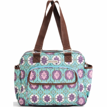 Timi & Leslie Dual Bag Diaper Bag in Farah