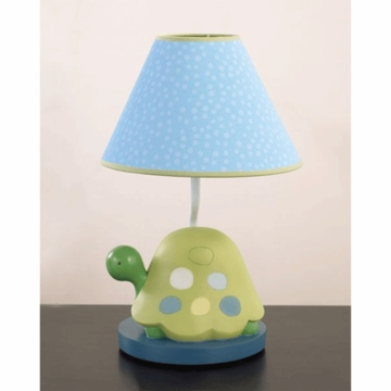 CoCaLo Turtle Reef Lamp Base and Shade
