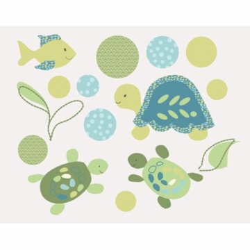 CoCaLo Turtle Reef Wall Appliques