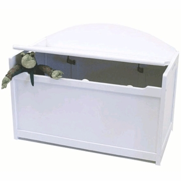 Lipper Child's Toy Chest 598W White