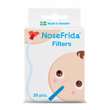 NoseFrida Replacement Filters - 20 Pack