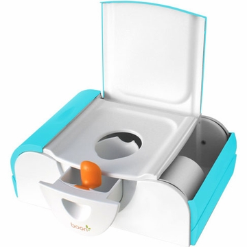 Boon Potty Bench, Training Toilet with Side Storage - Blue