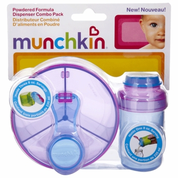 Munchkin Powdered Formula Dispenser Combo Pack 80103