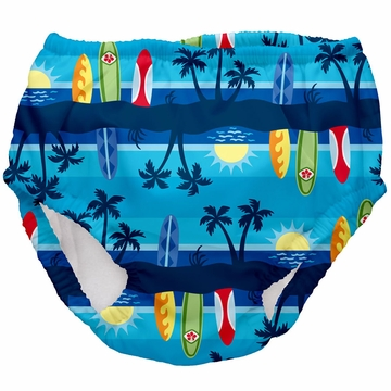 iPlay Ultimate Swim Diaper - Classics Aqua Sunset - XL (24 mo)