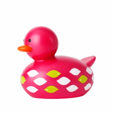 Boon ODD DUCK Not Your Average Rubber Ducky - Pink