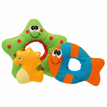 Chicco Splashing Sea Horse & Friends Bath Toy