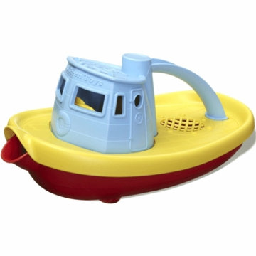 Green Toys Tug Boat in Blue