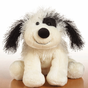 Webkinz Black and White Cheeky Dog