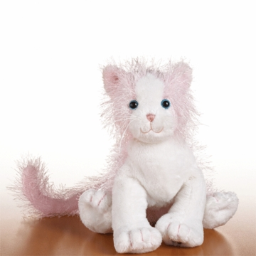 Webkinz Pink and White Cat