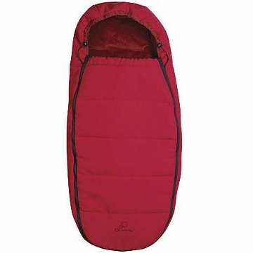 Quinny Stroller Footmuff In Red