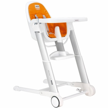 Inglesina Zuma White High Chair 2013 Orange