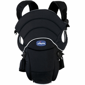 Chicco You & Me Deluxe Infant Carrier in Black