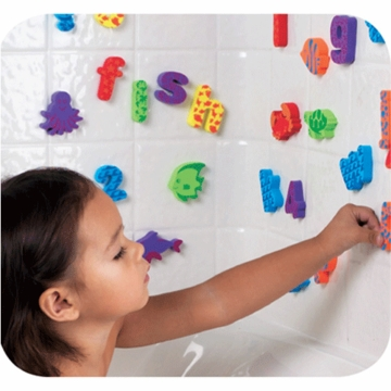 Munchkin Sea N Learn Bath Shapes