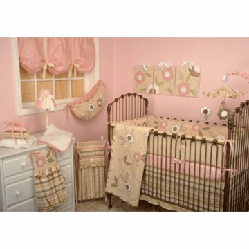Cotton Tale Designs Blossom 4 Piece Crib Bedding Set