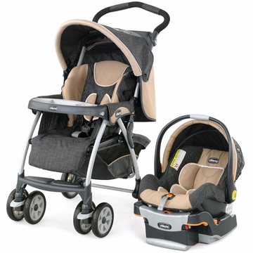 Chicco KeyFit 22 Cortina Travel System - Hazelwood