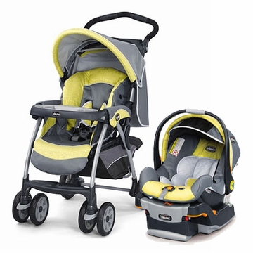 Chicco KeyFit 30 Cortina Travel System - Limonata