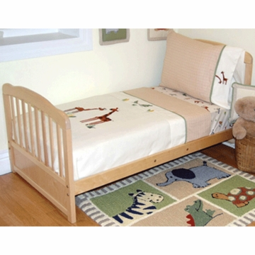 KidsLine Zanzibar 4 Piece Toddler Bedding Set