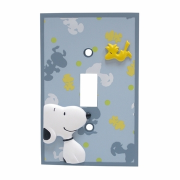 Lambs & Ivy Snoopy Switch Plate Cover