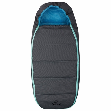 Quinny Buzz Stroller Footmuff - Blue Scratch