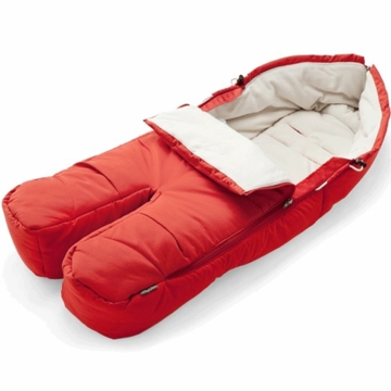 Stokke XPLORY Footmuff in Red