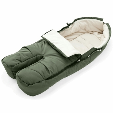 Stokke XPLORY Footmuff in Green