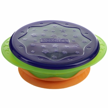 Munchkin Stay-Put Suction Toddler Bowl with Lid