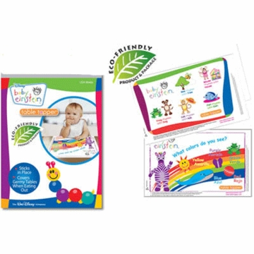 Neat Solutions Baby Einstein Biodegradable Table Toppers - 18 Count
