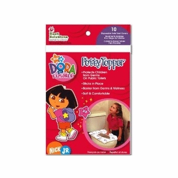 Neat Solutions Dora the Explorer Potty Topper - 10 Count