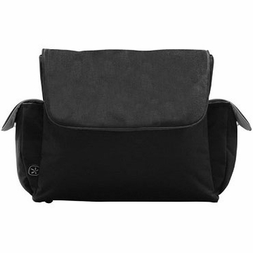 Fleurville Re-Run Messenger - Black/Silver
