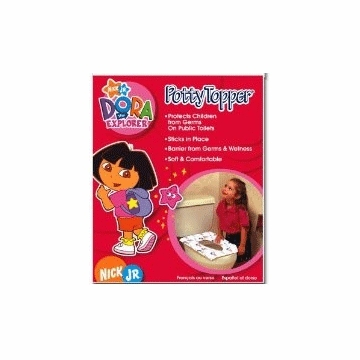 Neat Solutions Dora the Explorer Potty Topper - 20 Count