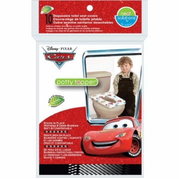 Neat Solutions 10 Count Disney Cars Potty Topper