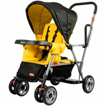 Joovy Caboose Stand on Tandem in Lemontree