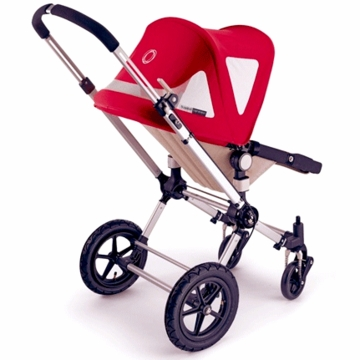 Bugaboo Cameleon Breezy CANVAS Canopy in Red