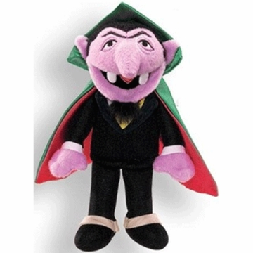 "Gund 5.75"" The Count Finger Puppet"