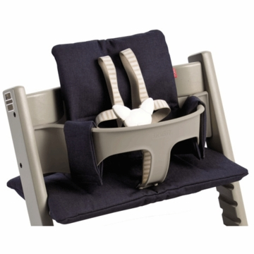 Stokke Premium Tripp Trapp Cushion in Denim Blue