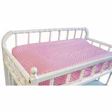 My Baby Sam Paisley Splash in Pink Contoured Changing Pad Cover