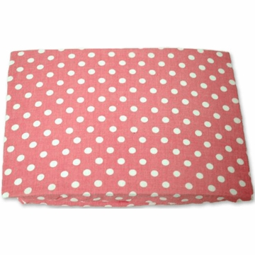 My Baby Sam Paisley Splash in Pink Small Pink Dot Crib Sheet