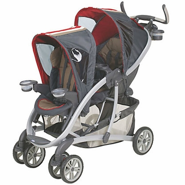 Graco Quattro Tour Duo Double Stroller - Racer