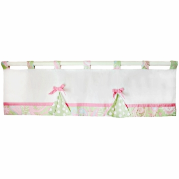 My Baby Sam Pixie Baby Pink Window Valance