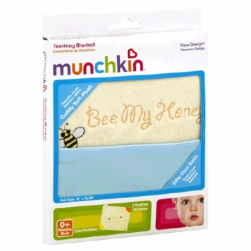 Munchkin Teething Blanket- Bee My Honey 76001