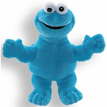 "Gund 5.5"" Cookie Monster Finger Puppet"