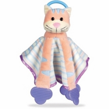 Munchkin Teether Blankie Buddy in Cat