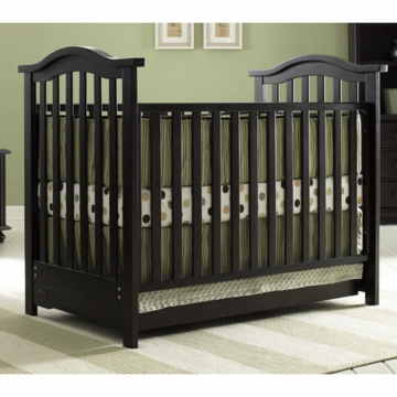 Bonavita Hudson Classic 3 in 1 Non-Dropside Crib in Cherry