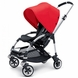 Bugaboo Bee Plus Stroller - Black / Red