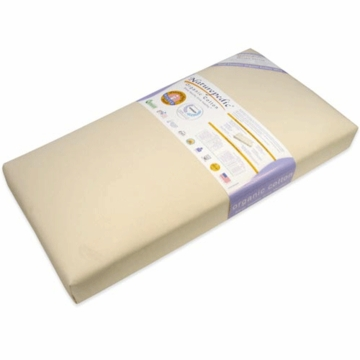 Naturepedic MC42 Dual Firmness Organic Cotton Ultra Crib Mattress