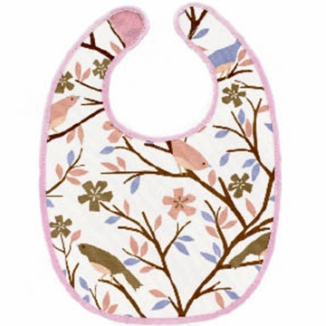 DwellStudio Sparrow Lilac Coated Bib